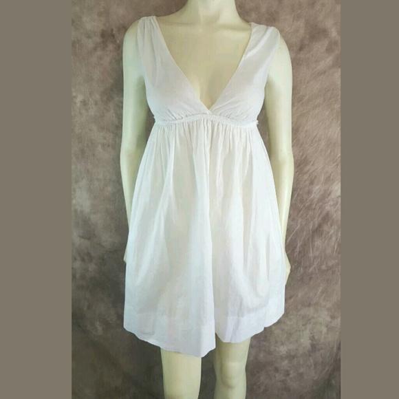6c36f0193 Prada Sport White Empire Waist Mini Sun Dress. M_5b0a0f6b9d20f056fcd6abfe